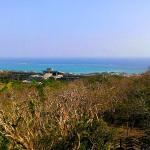 玉城城からの眺め海