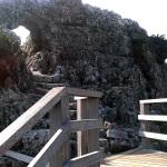 玉城城階段門前