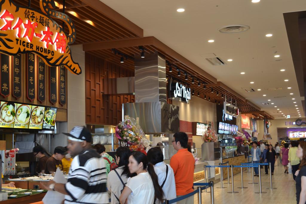 290_イオンモール沖縄ライカム タイガー本舗、タイ国料理 ジャイタイ、センプレピッツァ