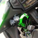 Ninja400にUSB電源を付けてスマホ充電!!